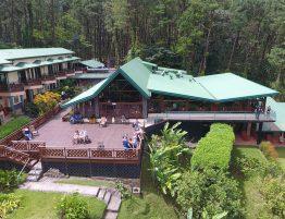 Vista panorámica Hotel Arenal Observatory Lodge